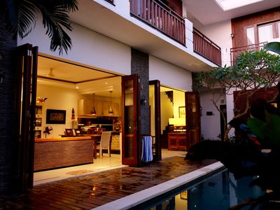 Photo for Bali Tropical Villa With Rice Paddy View