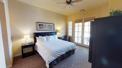 Photo for An Upstairs Legacy Villas Studio with a King Bed, Full Bath and Private Balcony!