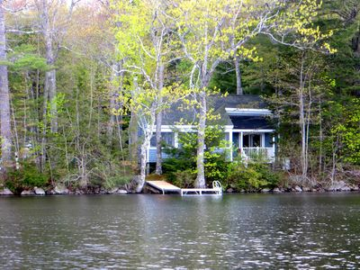 Photo for Lakeside cottage on McCurdy Pond just minutes from Damariscotta and Round Pond