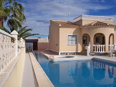 Photo for WHEELCHAIR ACCESSABLE VILLA and Vehicle With lift heated swimspa