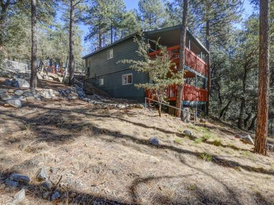 Photo for Upscale Cabin in the Pines with sweeping views