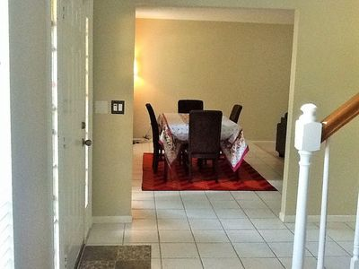 Photo for Clean, cozy & spacious 4-bedroom home with outdoor grill, fire pit & bog garden.