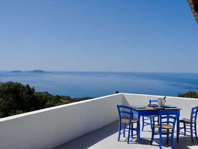 Photo for Panoramic Sea & Mountain views.  Private & s