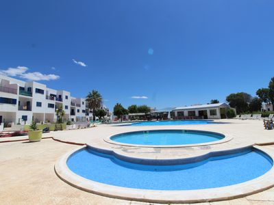 Photo for COMFORTABLE T2 CLIMATISE IN RESIDENCE WITH LARGE SWIMMING POOL AND TENNIS