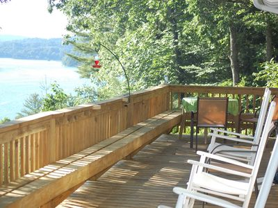 Photo for Gorgeous Lake with  Private Dock on Lake Glenville (Pet Friendly)