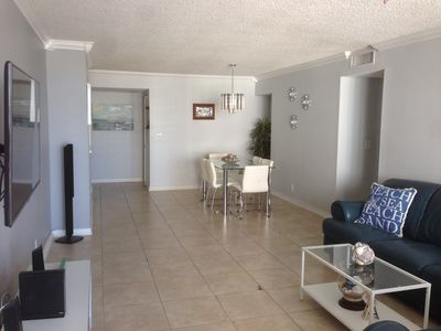 Photo for Fully Furnished - 2 Full BD/ BT. Ocean Front Property. Beach Access.