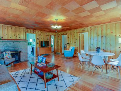 Photo for Stylish home w/ '60s flair, a wraparound porch, home comforts & a great location