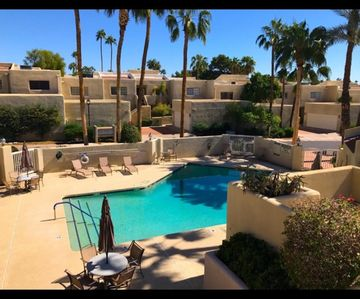 Photo for Relaxing condo on Biltmore Golf Course - views /pool, tennis, hiking & golf