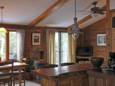 Two Bedroom Riverfront Log Cabin
