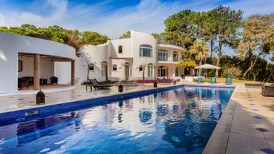 Photo for FABULOUS 6 BEDROOM VILLA WITH PRIVATE POOL, PRIVATE TENNIS COURT AND MORE IN QUINTA DO LAGO ER25