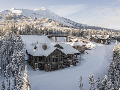 Photo for New Listing! Recently Updated Ski-in, Ski-out Chalet with Game Room and Sweeping Mountain Views