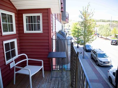 Photo for Heart of Downtown Apartment w/ Outdoor Patio, and Balcony w/ Channel views
