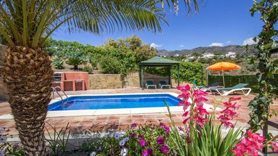 Photo for Lovely villa with nice garden and beautiful village views