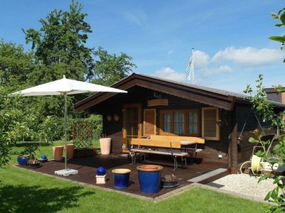 Photo for Small holiday home near Kassel with large terrace in quiet location