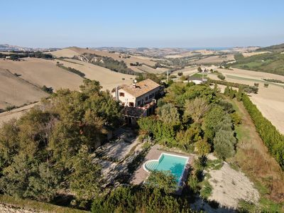 Photo for Villa Sul Colle, 8 bedrooms, private pool a few km from the sea