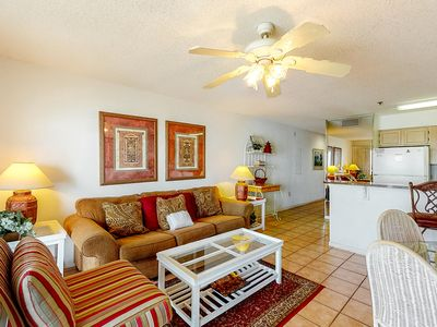 Photo for 2nd Floor Condo w/ Gulf View! Grill, Pools, Beach Access, Near shops and more!