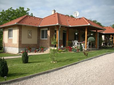 Photo for Holiday apartment Balatonszemes for 2 - 4 persons with 1 bedroom - Penthouse holiday apartment