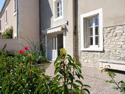 Photo for Authentic French village experience on the river Loire. Explore famous vineyards