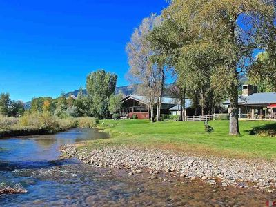 Photo for ROOM ONLY-One bedroom one bath, spa on deck overlooking river on eight acre
