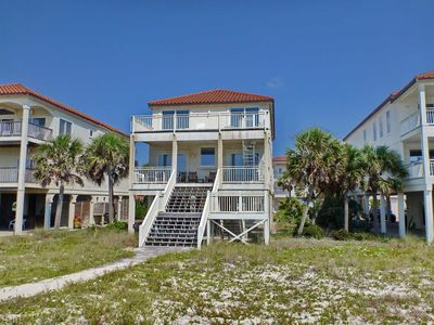 Photo for Beachfront Heaven on the East End! Pets welcome, Hot Tub, Screen Porch, Elevator, Beach Gear!
