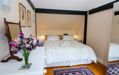 Bedroom with super king size OR 2 single beds
