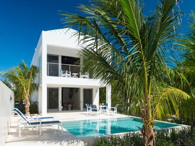 Photo for One bedroom Romantic Villa perfect for a couple a short walk to Grace Bay Beach and Turtle Cove