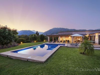 Photo for 3 bedroom Villa, sleeps 6 in Pollença with Pool and Air Con