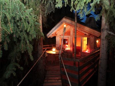 Photo for Unusual cabin in the heart of the mountains - 4 people