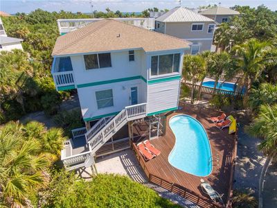 Photo for LONGBOAT PEARL IS AN IMMACULATE BEACH VIEW HOME ON NORTH CAPTIVA WITH A POOL!!!