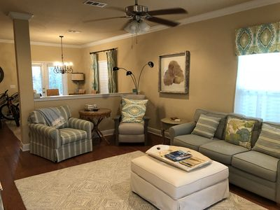 Photo for 30ALoop: Brightly decorated, Immaculate and Fun 3brm 2 1/2 bath Beach House.
