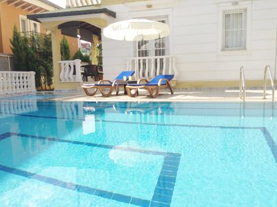 Photo for Ground Floor Quiet Apt & Pool, Between Calis Beach & Fethiye - Government legal