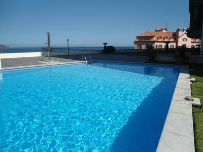 Photo for Funchal View Apartment with Swimming pool, free WiFi and car parking!