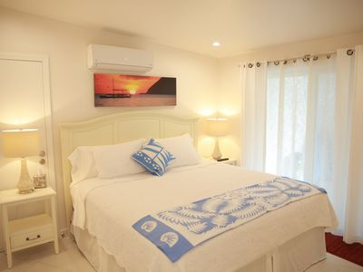 Photo for Close  to beach, sleeps 2, AC, quiet, private