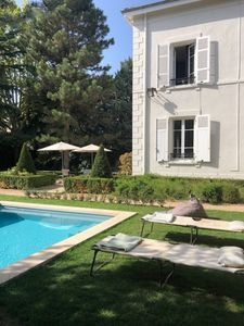 Photo for The mansion House with pool and French garden