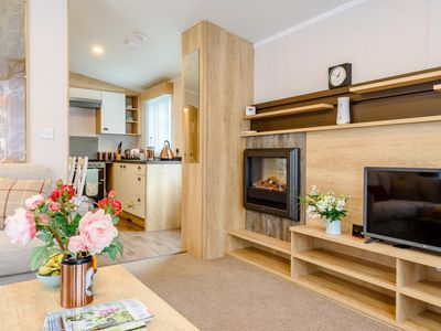 Photo for 2 bedroom Log Cabin in New Quay - 77473