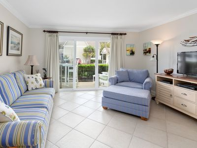 Photo for Walk to Village. Short distance to beach. 2 pools.  1 heated