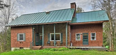 Photo for NEW! Rustic Woodland Home on 10 Acres By Stowe Mtn