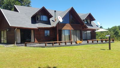 Photo for Los Arrayanes Park & Events Hall Spacious Chalet for 14 people Pucon