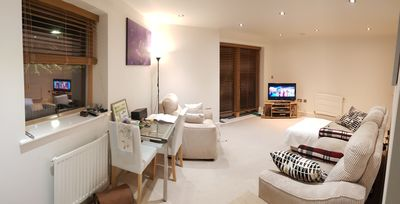 Photo for Spacious 1 bed apartment with wrap around terrace