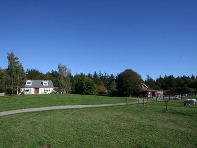 Photo for OVER THE HILL FARM - A VACATION OUT OF THE ORDINARY  (no work required)