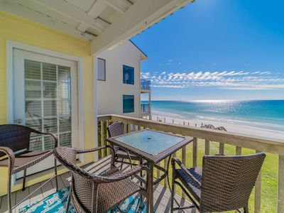 Photo for The Breezeway, Beach Front,Gulf Views, Blue Mountain Beach! Book now for 2019!