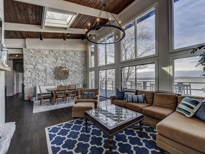 Photo for GORGEOUS & Newly Renovated Lake House in Music City with sunset views