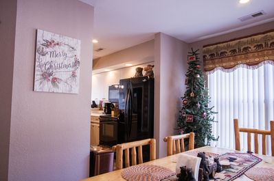 Dining Table Christmas