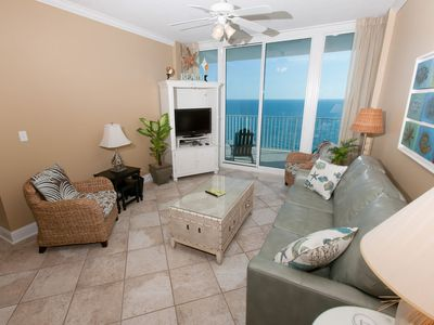 Living Room-Lighthouse 1413-Gulf Shores, AL