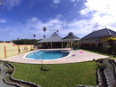 Photo for Driftwood85 is a three bedroom villa with all amenities and large saltwater pool