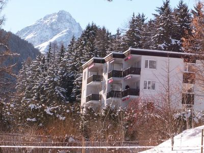 Photo for Apartment Ferienwohnung Brentsch Park B50  in Scuol, Engadine - 2 persons, 1 bedroom