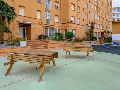 Photo for Cosy apartment for 8 guests with WIFI, pool, TV, balcony and parking