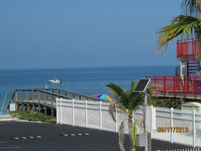 Photo for Great Gulf Views!  Just Steps To Sunset Beach And Heated Pool!