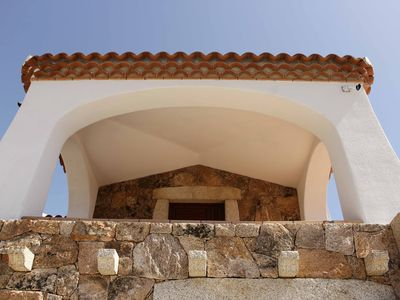 Photo for Three-room Agrustos with pool and sea view