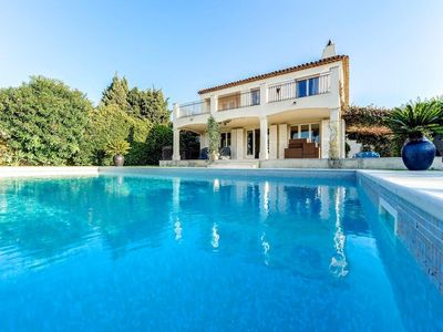 Photo for PRETTY VILLA CLIMATISEE SWIMMING POOL IN THE HEART OF ST TROPEZ